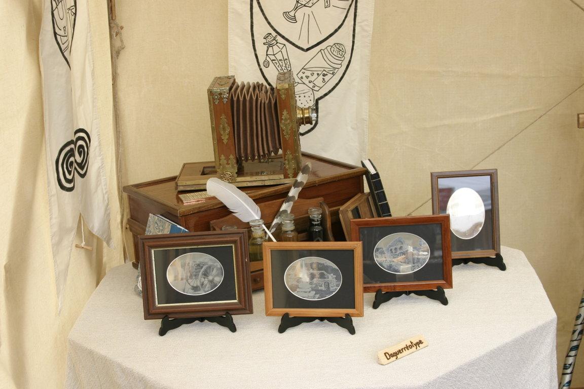 Alchimicka Mickael Joigneau Daguerréotypes et chambre de voyage